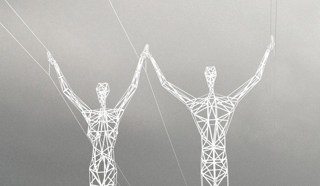 Islande : les pylones électriques sont des sculptures d'art