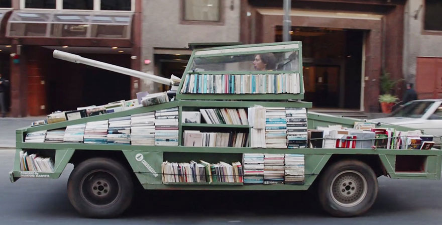 http://www.boredpanda.com/free-book-tank-library-weapon-of-mass-instruction-raul-lemesoff/