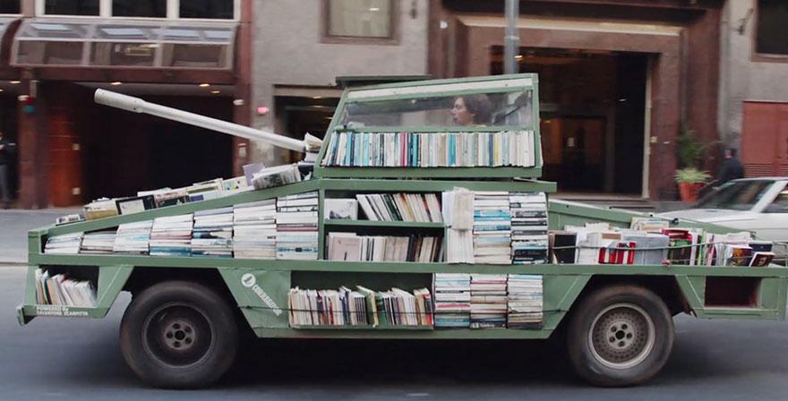 http://www.boredpanda.com/free-book-tank-library-weapon-of-mass-instruction-raul-lemesoff/
