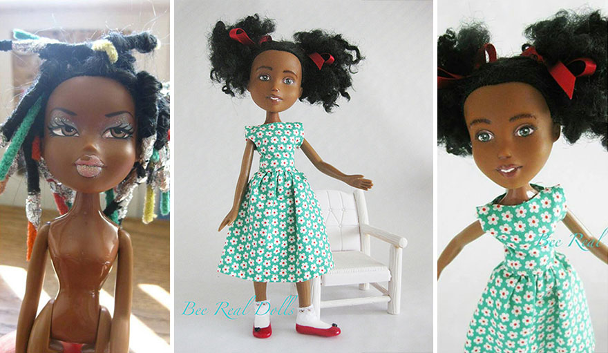 http://www.boredpanda.com/bee-real-dolls-lovingly-restored-and-repainted-second-hand-dolls/