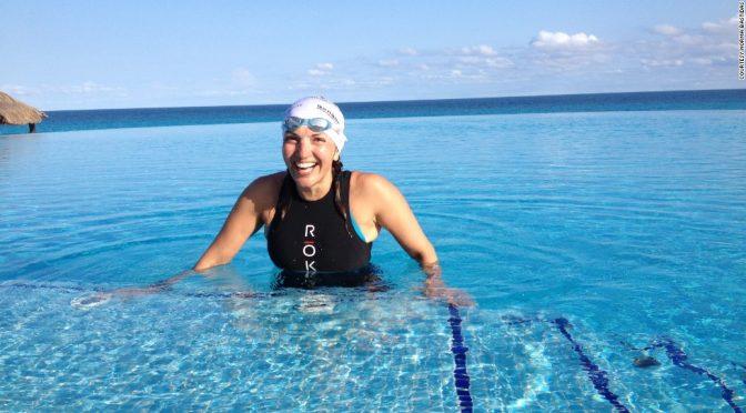 Inclassable : Ancienne victime, survivante du trafic humain, elle a battu le record du monde de triathlon et court pour les victimes de violences